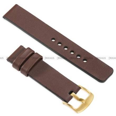 Pasek skórzany do zegarka lub smartwatcha - moVear WQU0S010000GDPM24B1 - 24 mm