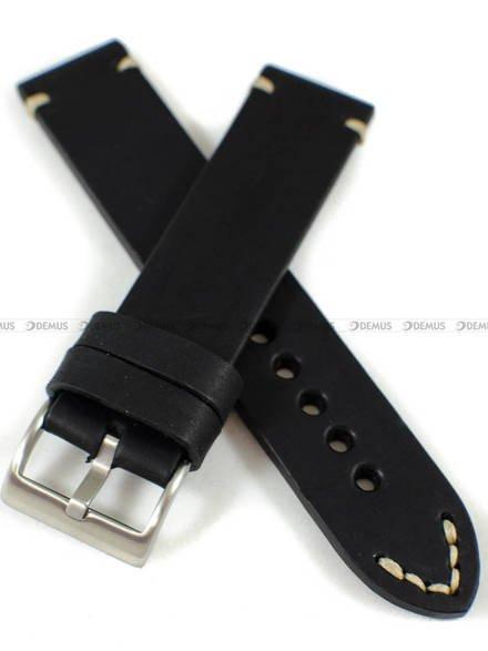 Pasek skórzany ręcznie robiony do zegarka - Tekla PT-HM1-22.1.7 - 22 mm