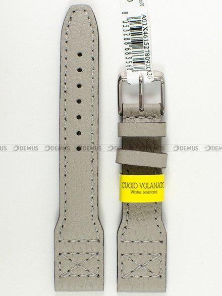 Pasek skórzany wodoodporny do zegarka - Morellato A01X4615278092 20 mm
