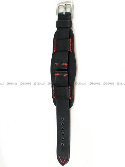 Pasek skórzany z podkładką do zegarka - Tekla PT63.22.1.4
