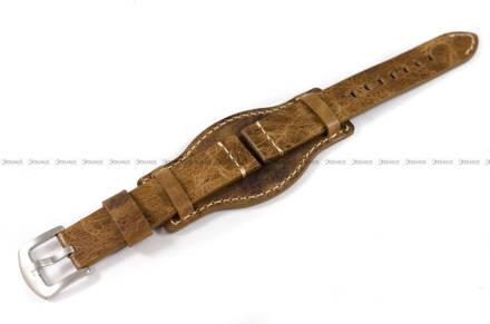 Pasek skórzany z podkładką do zegarka - Tekla PT70.18.3.7 - 18 mm