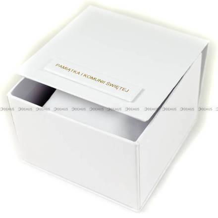 Prostokątne pudełko komunijne na zegarek