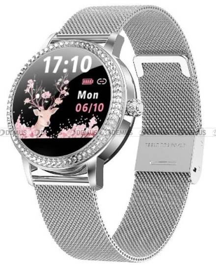 Smartwatch Damski Rubicon RNBE63 srebrny