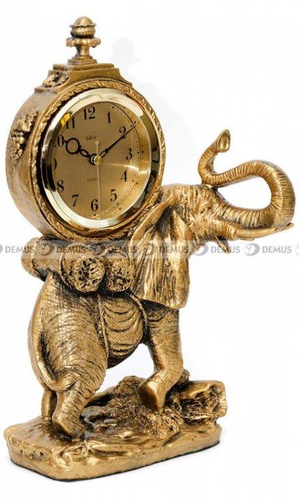 Zegar kominkowy figurka Słoń Adler 80010-G-PL