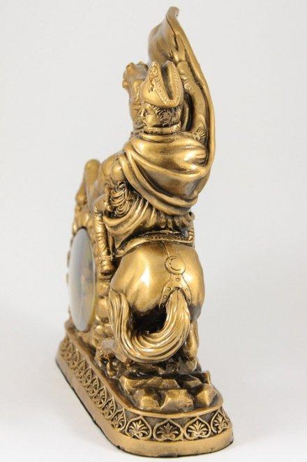 Zegar kominkowy kwarcowy Figurka Napoleon Tempus Fugit 3510
