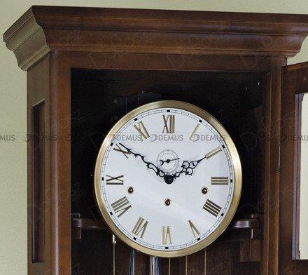 Zegar mechaniczny stojący Hermes-Silver-W