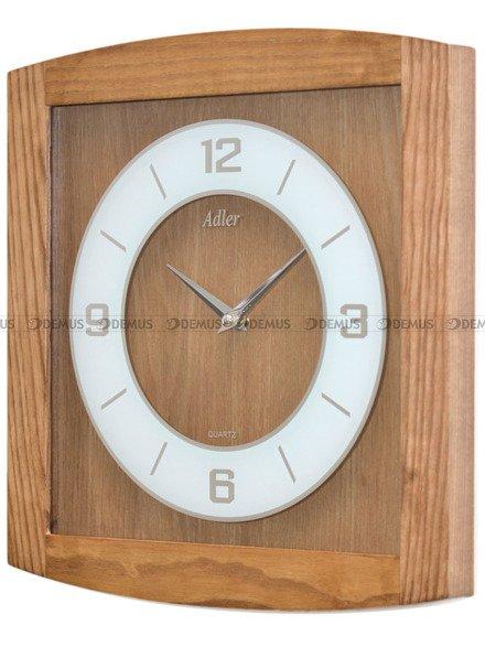 Zegar ścienny Adler 21176-PB-OAK
