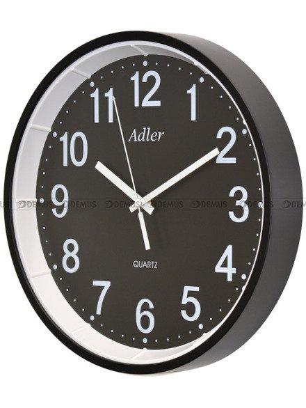 Zegar ścienny Adler 30125-BLACK1