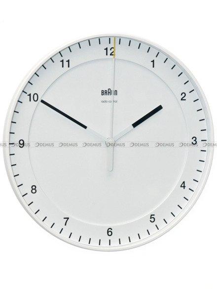 Zegar ścienny Braun BC17W-DCF - sterowany radiowo