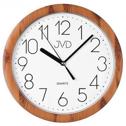 Zegar ścienny JVD H612.19 z tworzywa okrągły
