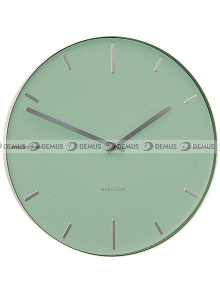 Zegar ścienny Karlsson Belt Mint Green KA5444MG