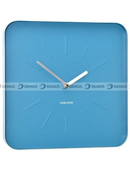 Zegar ścienny Karlsson Cube Blue KA5447BL
