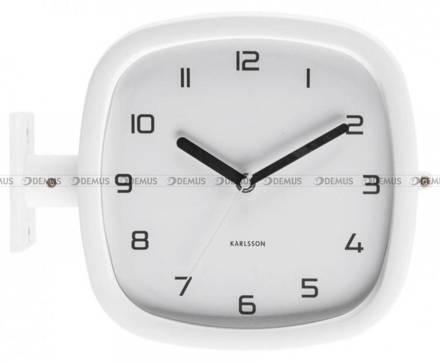 Zegar ścienny Karlsson Doubler KA5831WH