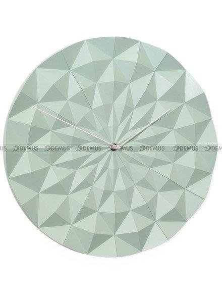 Zegar ścienny Karlsson Face Mint Green KA5458