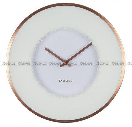 Zegar ścienny Karlsson Illusion White KA5614