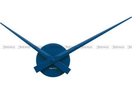 Zegar ścienny Karlsson Little Big Time Mini Blue KA4348BL