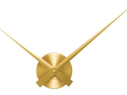 Zegar ścienny Karlsson Little Big Time Mini Gold KA4348GD
