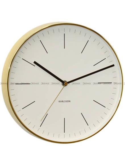 Zegar ścienny Karlsson Minimal KA5695WH - 27 cm