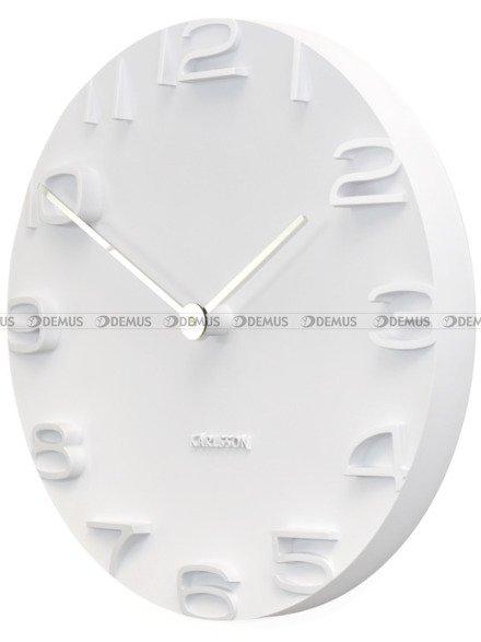 Zegar ścienny Karlsson On The Edge White KA5311WH