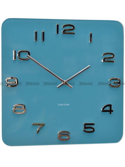 Zegar ścienny Karlsson Vintage Jeans Blue KA5641BL