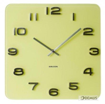 Zegar ścienny Karlsson Vintage Yellow KA5488YE