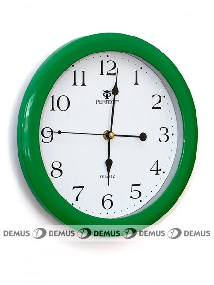 Zegar ścienny LA17-GREEN