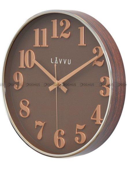 Zegar ścienny LAVVU HOME Brown LCT1162