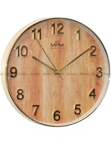 Zegar ścienny MPM Black Marble E01.3898.8051