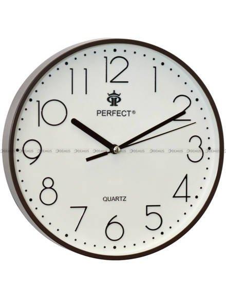 Zegar ścienny Perfect FX-5814 Brązowy - 23 cm