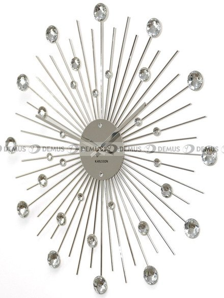 Zegar ścienny Sunburst Crystal KARLSSON KA4859