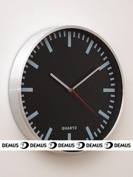 Zegar ścienny aluminiowy E01.2483.7090
