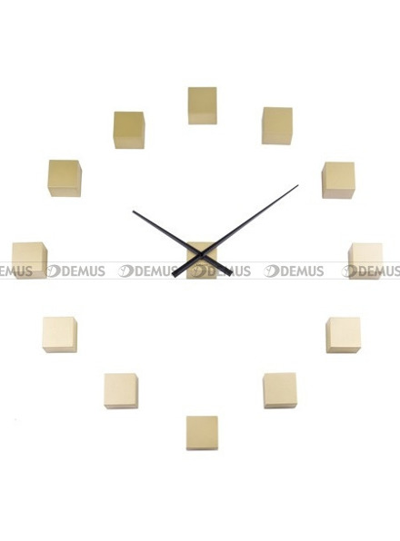 Zegar ścienny naklejany Karlsson DIY Cubic KA5698GD