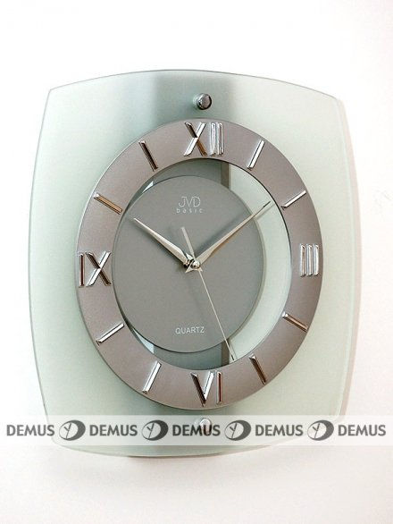 Zegar ścienny szklany N13
