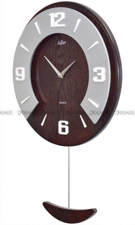 Zegar ścienny z wahadłem Adler 21179-WA