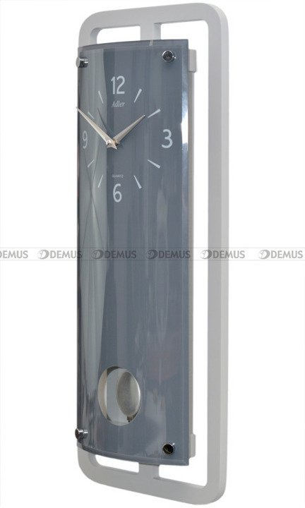 Zegar wiszący Adler 20247-Dark-Grey