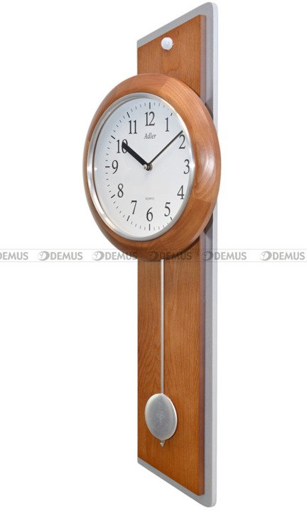 Zegar wiszący z podświetleniem LED Adler 20246-OAK