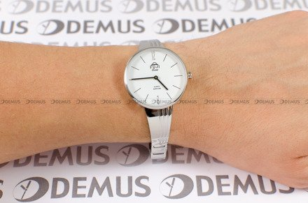 Zegarek Damski FujiTime M7107QS-White-Black