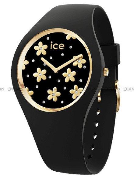 Zegarek Damski Ice-Watch - Ice Flower Precious Black 016668 M