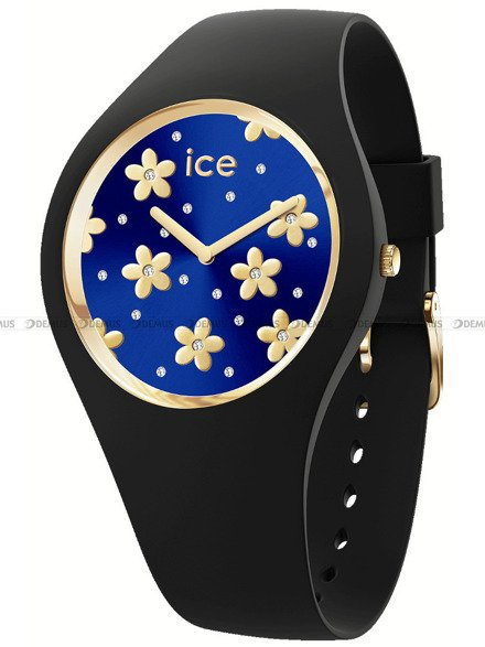 Zegarek Damski Ice-Watch - Ice Flower Precious Deep Blue 017579 M
