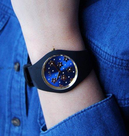 Zegarek Damski Ice-Watch - Ice Flower Precious Deep Blue 017579 M