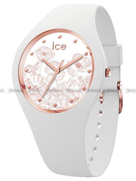 Zegarek Damski Ice-Watch - Ice Flower Spring White 016669 M