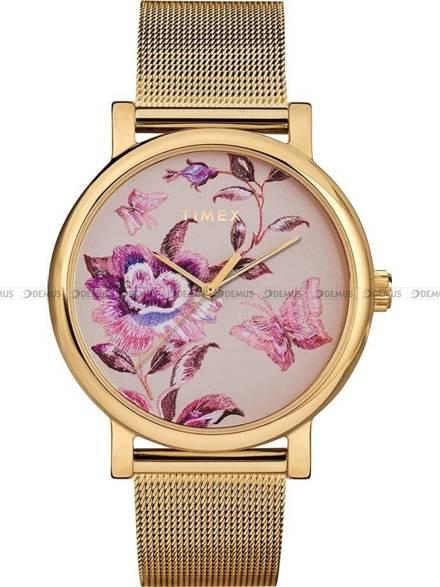 Zegarek Damski Timex Full Bloom TW2U19400