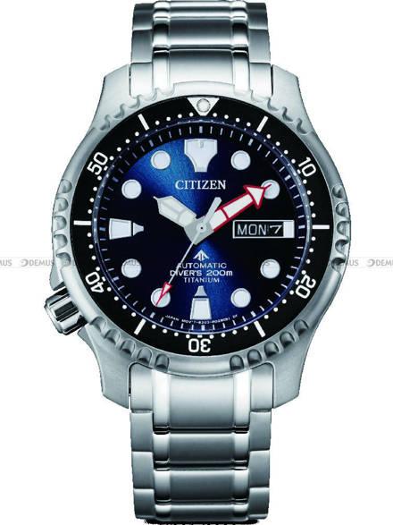 Zegarek Męski Citizen Promaster Diver Titanium Automatic NY0100-50ME