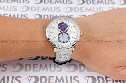 Zegarek Męski FujiTime M7108QS-Silver-Blue