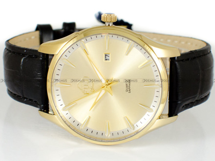 Zegarek Męski FujiTime M7123QG-PA-Gold