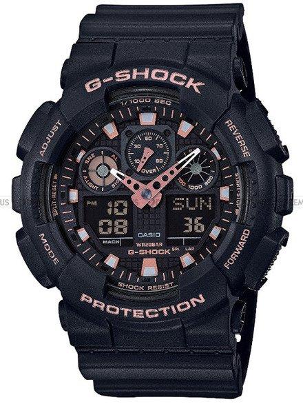 Zegarek Męski G-SHOCK BLACK AND GOLD GA-100GBX-1A4ER