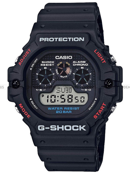 Zegarek Męski G-SHOCK DW 5900 1ER