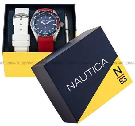 Zegarek Męski Nautica N-83 Finn World NAPFWS011 - W zestawie dodatkowy pasek