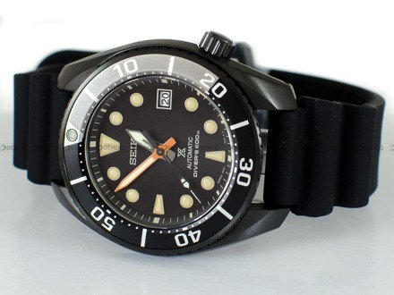 Zegarek Męski Seiko Prospex Diver The Black Series Limited Edition SPB125J1