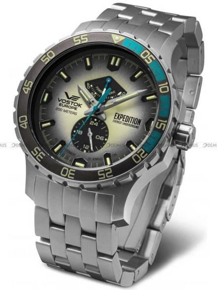 Zegarek Męski Vostok Expedition Everest Underground YN84-597A544B - Bransoleta w zestawie